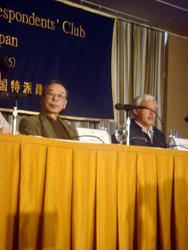 Matsumura Naotoさん 外国人記者クラブ 原発 東京電力